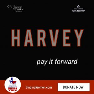 Singing Women of Texas Harvey Donations